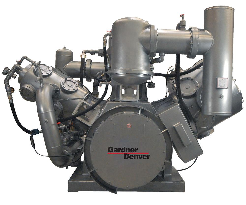 Gardner Denver Piston Compressor aka reciprocating compressor