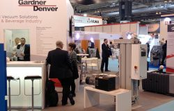 Gardner Denver Stand at Foodex