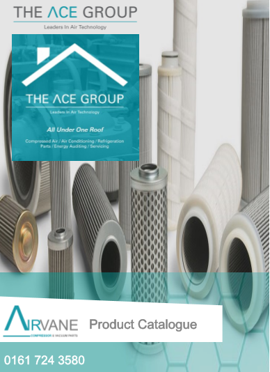 ACE Parts catalogue front cover