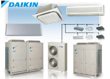 Daikin Compressors arrangement