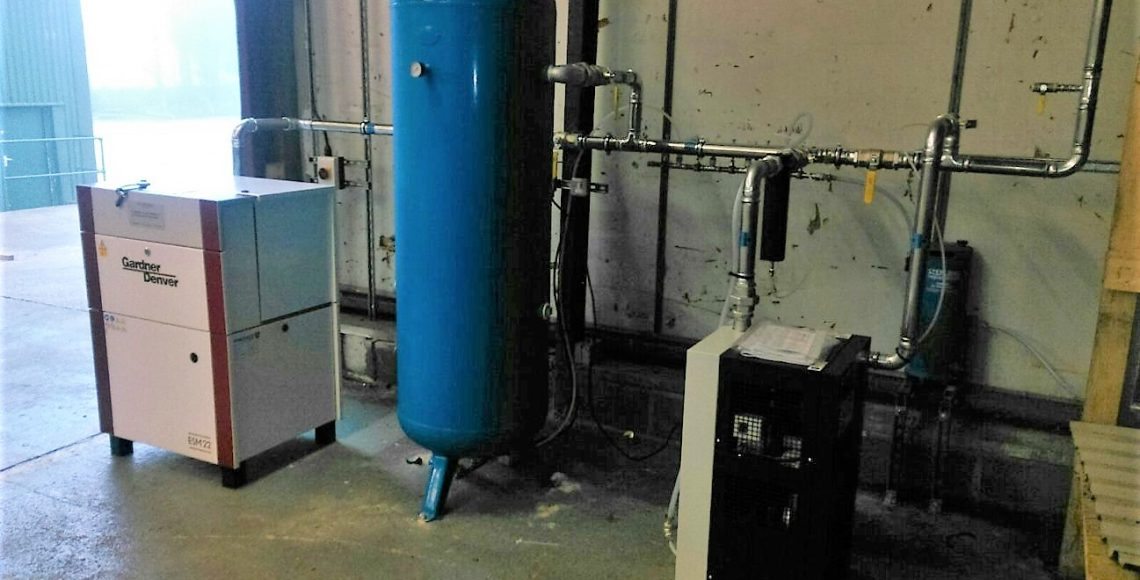 Compressed Air Installation at Frame-tech, Huddersfield