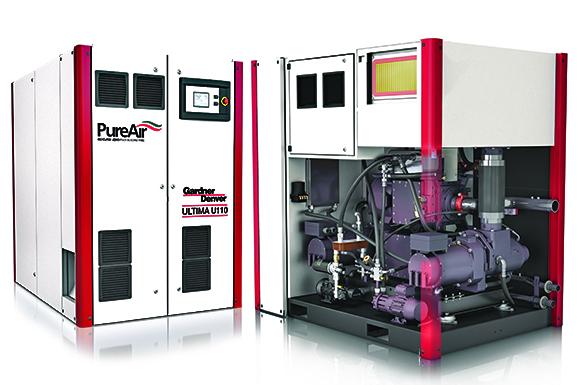 Gardner Denver Ultima oil free air compressor