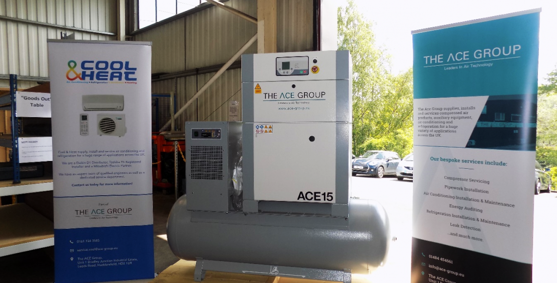 New range of rotary screw air compressor fro sale from the ACE Group